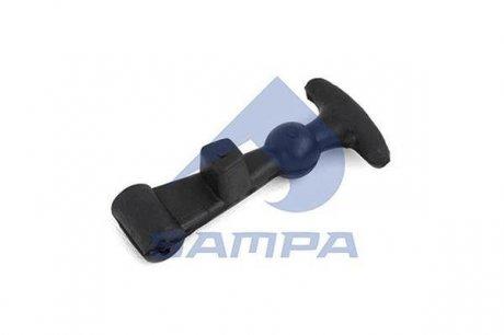 1850 0080 SAMPA Застежка аккумуляторного ящика резина DAF 65CF/ 75CF/ 85CF/ 920VS/ 95XF/ 95XF 530/ CF65/ CF65II/ CF65IV/ CF75/ CF75II/ (0630960 | )