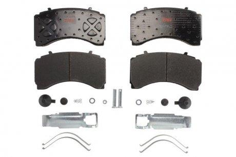 GDB5110 TRW Комплект тормозных колодок, дисковый тормоз